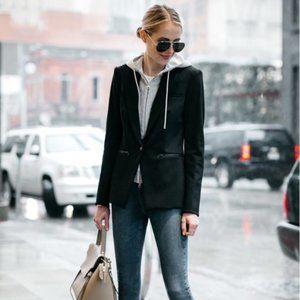 Veronica Beard Scuba Dickey Jacket in Black
